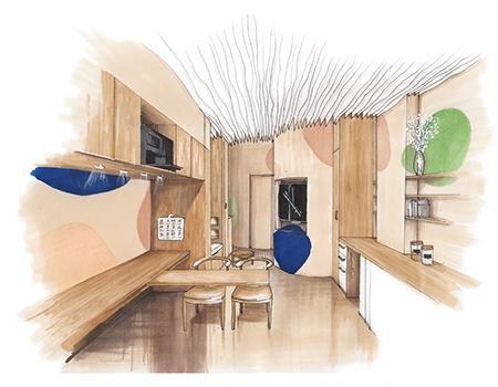 Projet Architecture Intérieure Rénovation intérieure d'un appartement pour une location AirBnB - Liliana NIELOUD CREAD